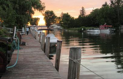 Trade-a-Yacht Marina Hibiscus Harbor. Union Springs NY