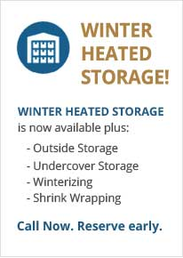 Winter heated boat storage Syracuse Auburn NY